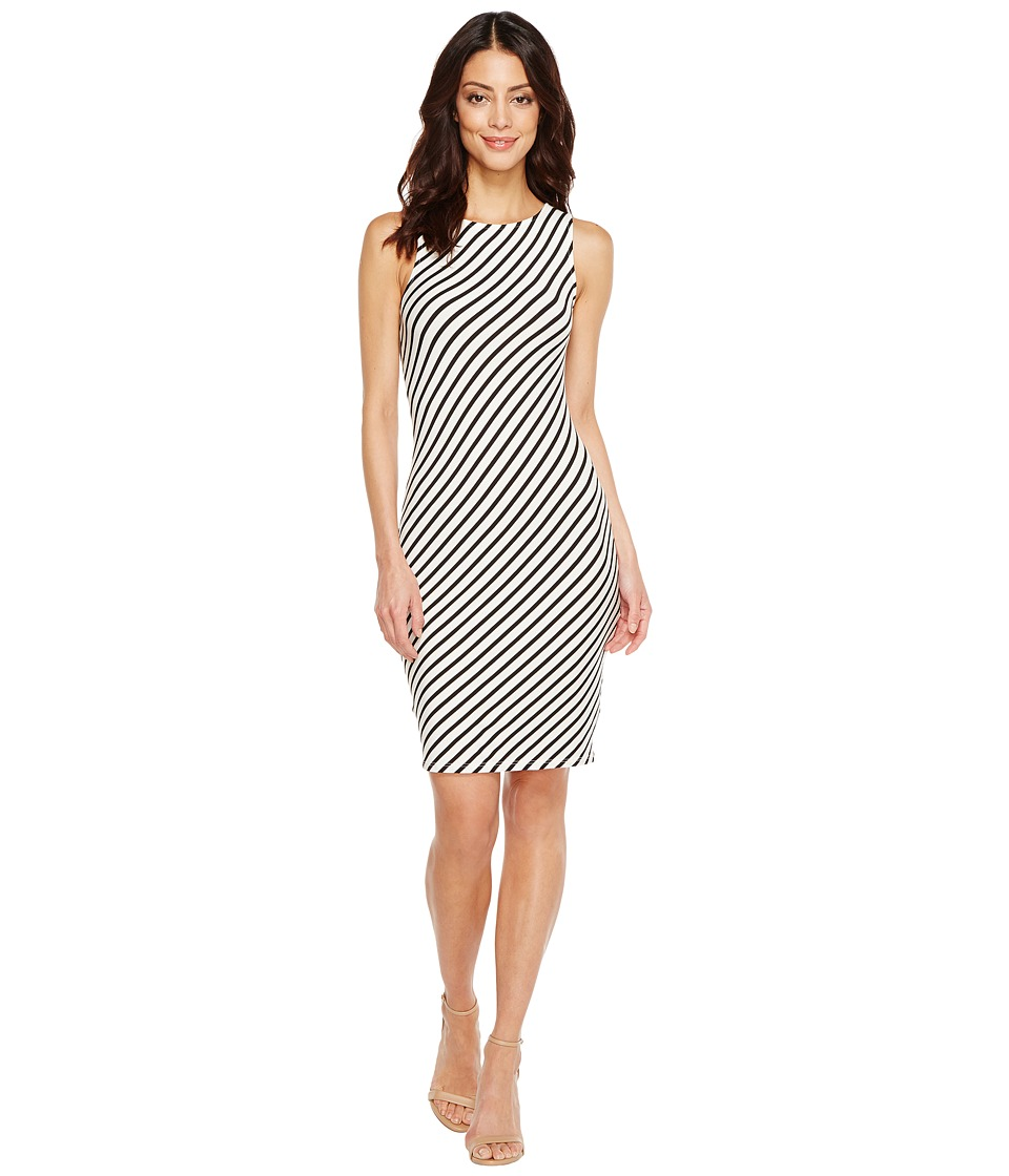 Rachel Pally - Charleigh Bias Dress (Black/White Stripe) Women's Dress