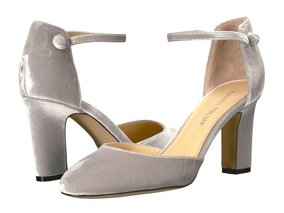 Ivanka Trump - Berea 2 (Silver Fabric/IP Velluto Master) High Heels