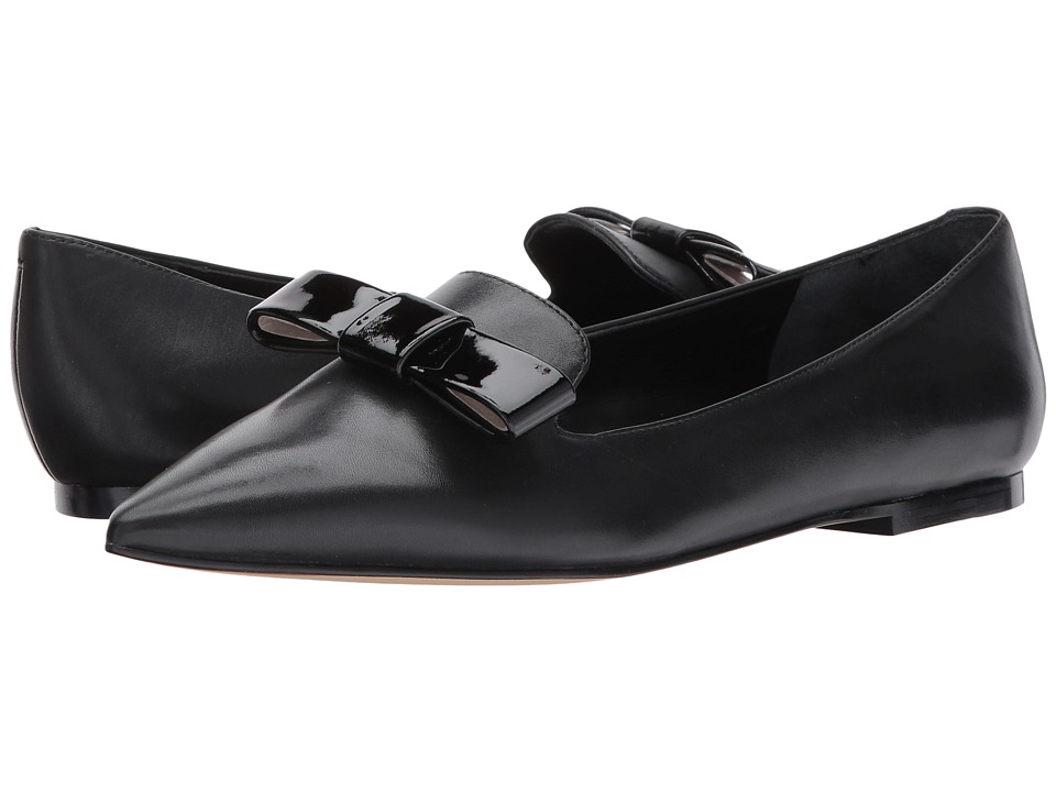 Ivanka Trump Lelle (Black Dress Calf/New Patent Leather) Women