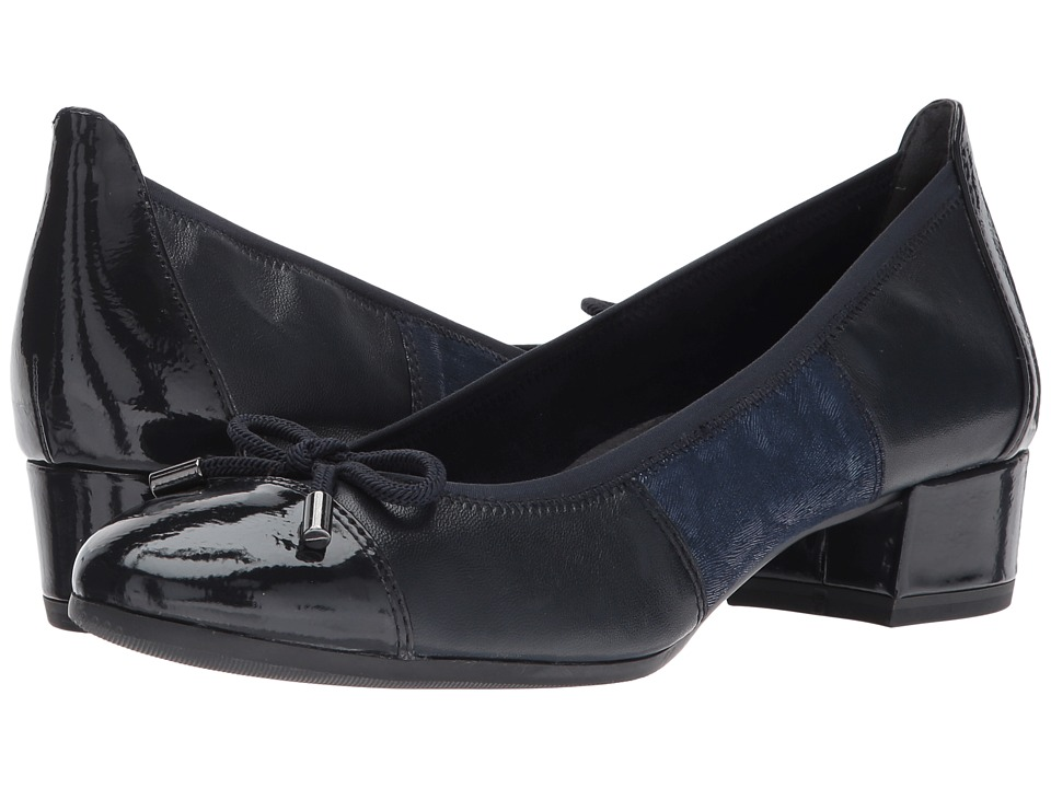 Tamaris - Alisa 1-1-22300-29 (Navy Combo) Women's 1-2 inch heel Shoes