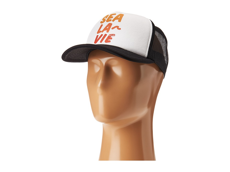 Rip Curl - Wave Warrior Trucker Hat (Black) Caps