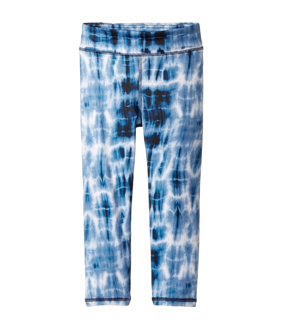 Polo Ralph Lauren Kids - Jersey Tie-Dye Leggings (Little Kids) (Navy/Blue Multi) Girl's Casual Pants