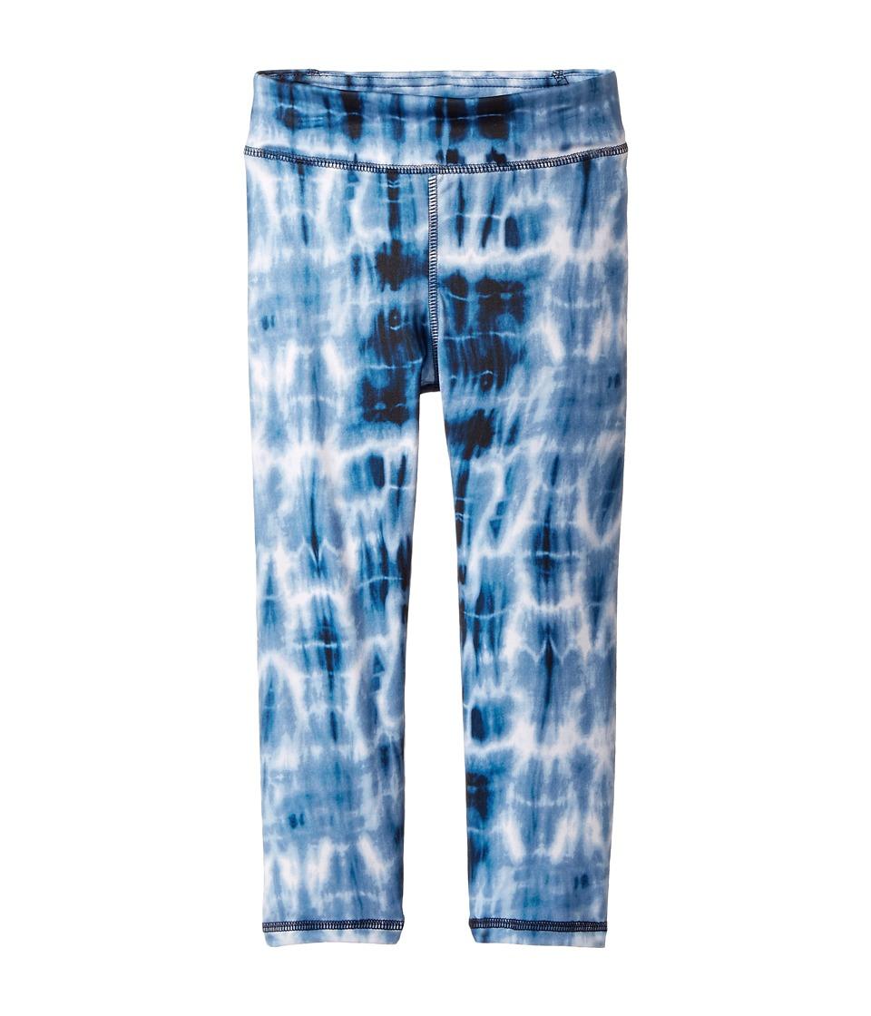 Polo Ralph Lauren Kids - Jersey Tie-Dye Leggings (Little Kids) (Navy/Blue Multi) Girl's Casual Pants