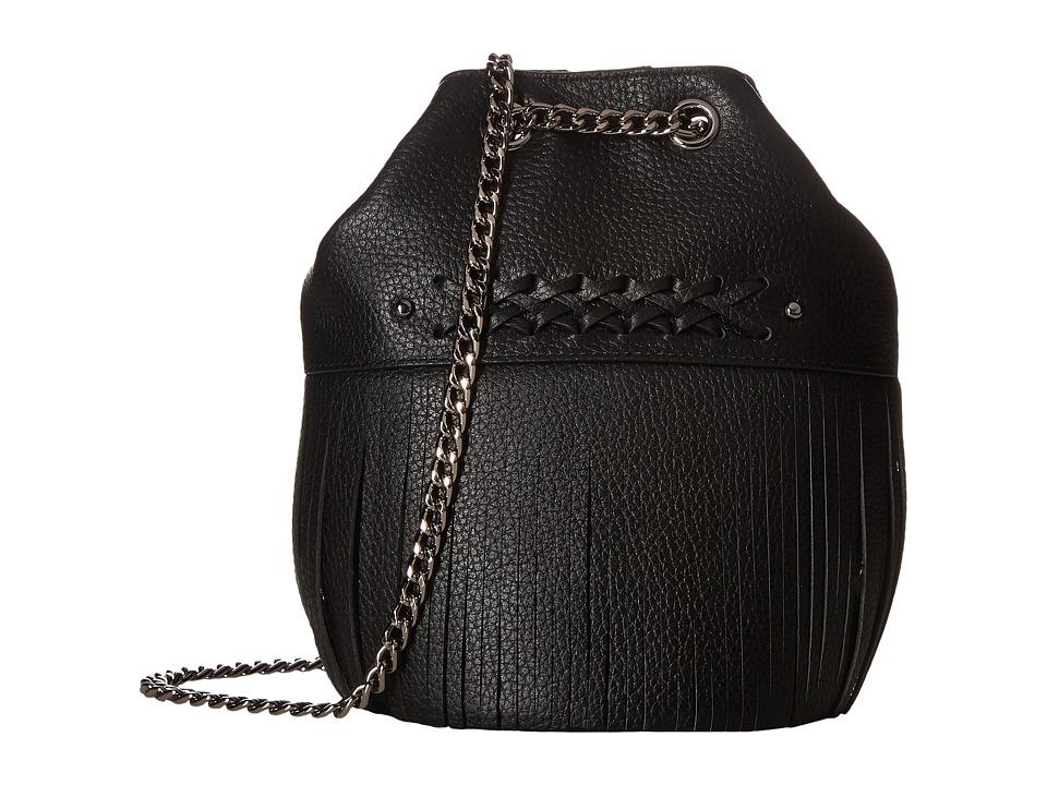 LAUREN Ralph Lauren - Barton Eloise Drawstring Mini (Black) Drawstring Handbags