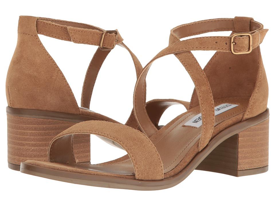 Steve Madden - Rordan (Tan Suede) Women's 1-2 inch heel Shoes