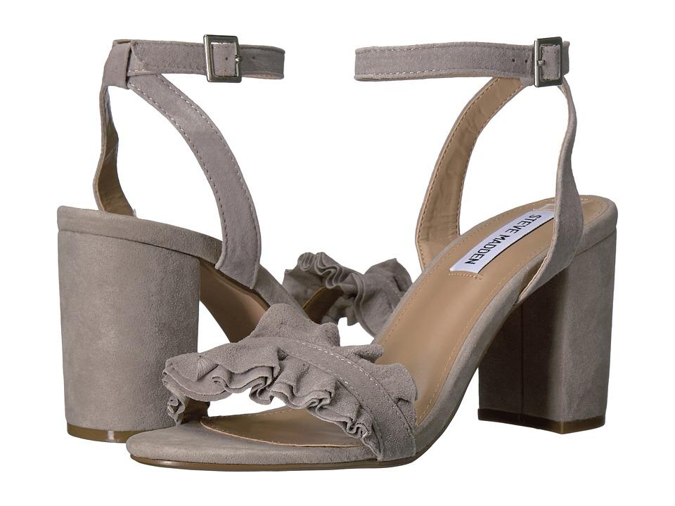 Steve Madden Dolores (Grey Suede) High Heels