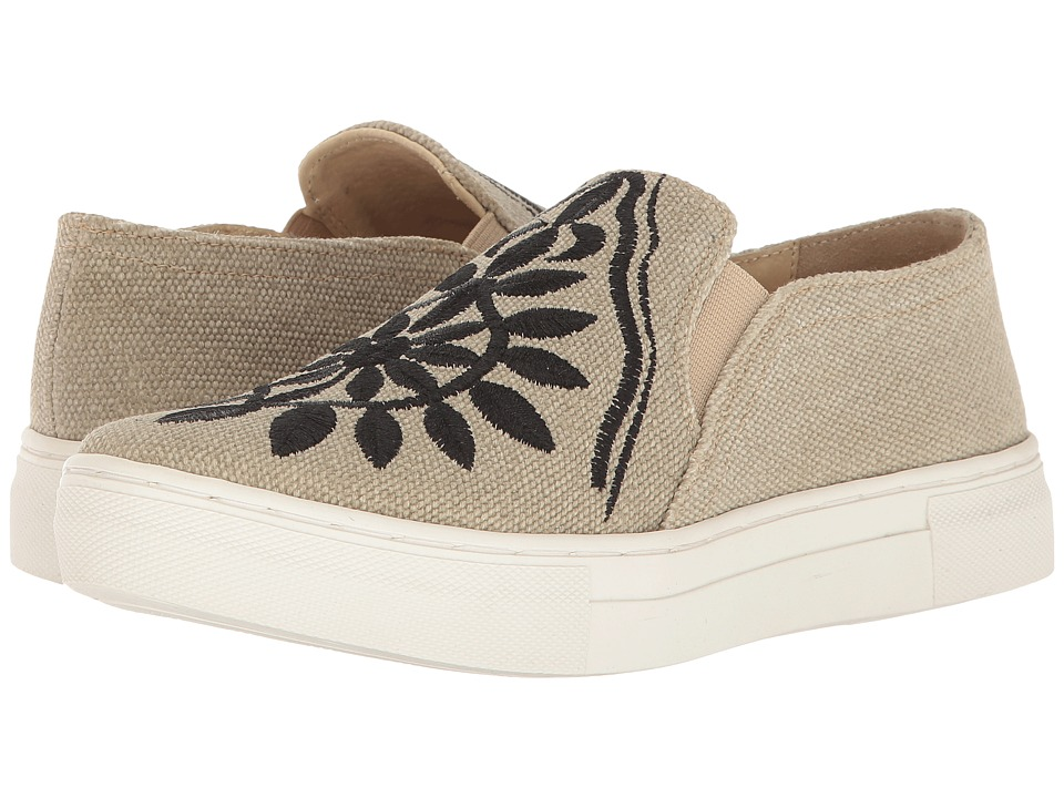 Seychelles - Sunshine (Khaki/Black) Women's Slip on Shoes