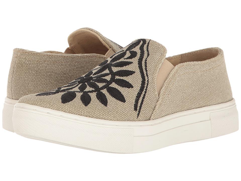 Seychelles - Sunshine (Khaki/Black) Women's Slip on Shoes