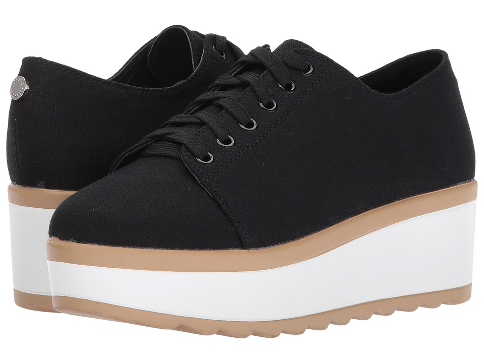 Steve Madden - Joshua (Black) Women's Wedge Shoes