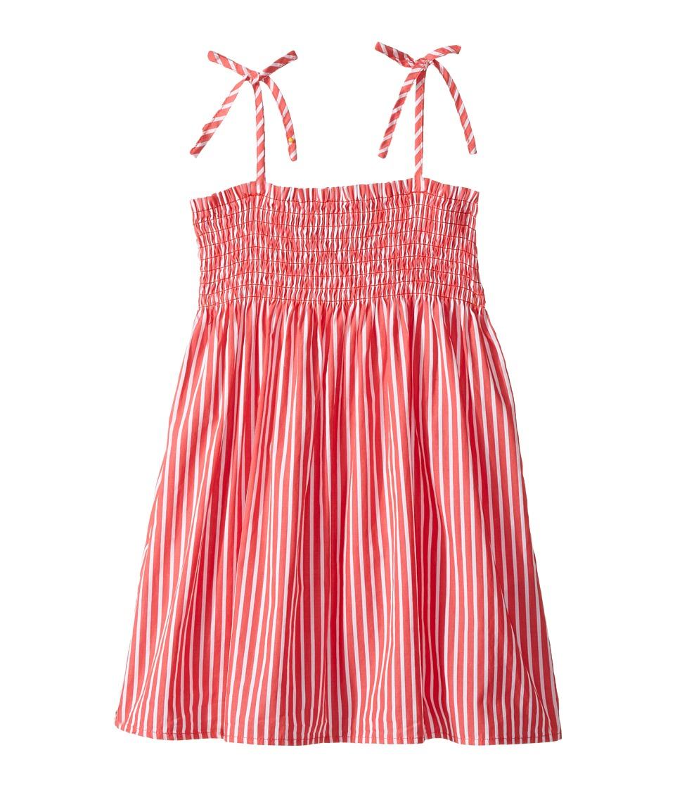 Polo Ralph Lauren Kids - Sunfade Bengal Slim Shirtdress (Toddler) (Red/White Stripe) Girl's Dress
