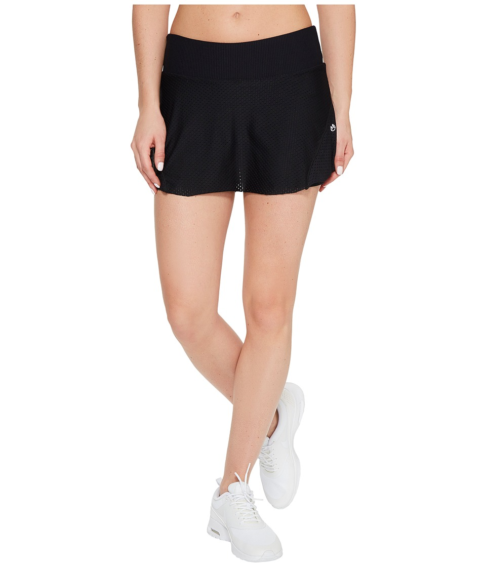 Maaji Film Buff Running Skirt (Black) Women