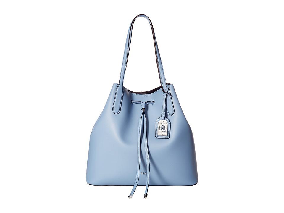 LAUREN Ralph Lauren - Dryden Diana Tote (Blue Mist) Tote Handbags