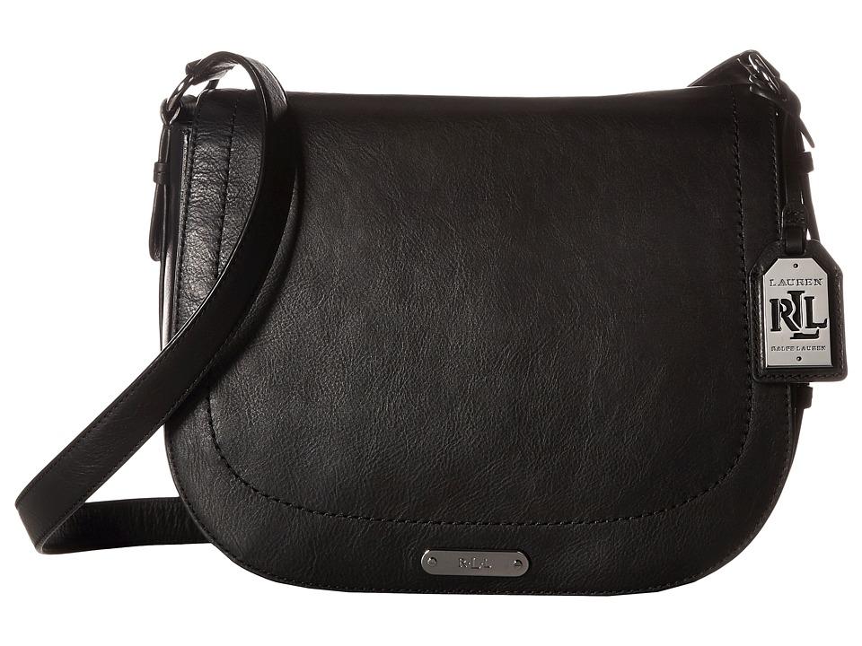 LAUREN Ralph Lauren - Glennmore Larisa Messenger Medium (Black) Messenger Bags