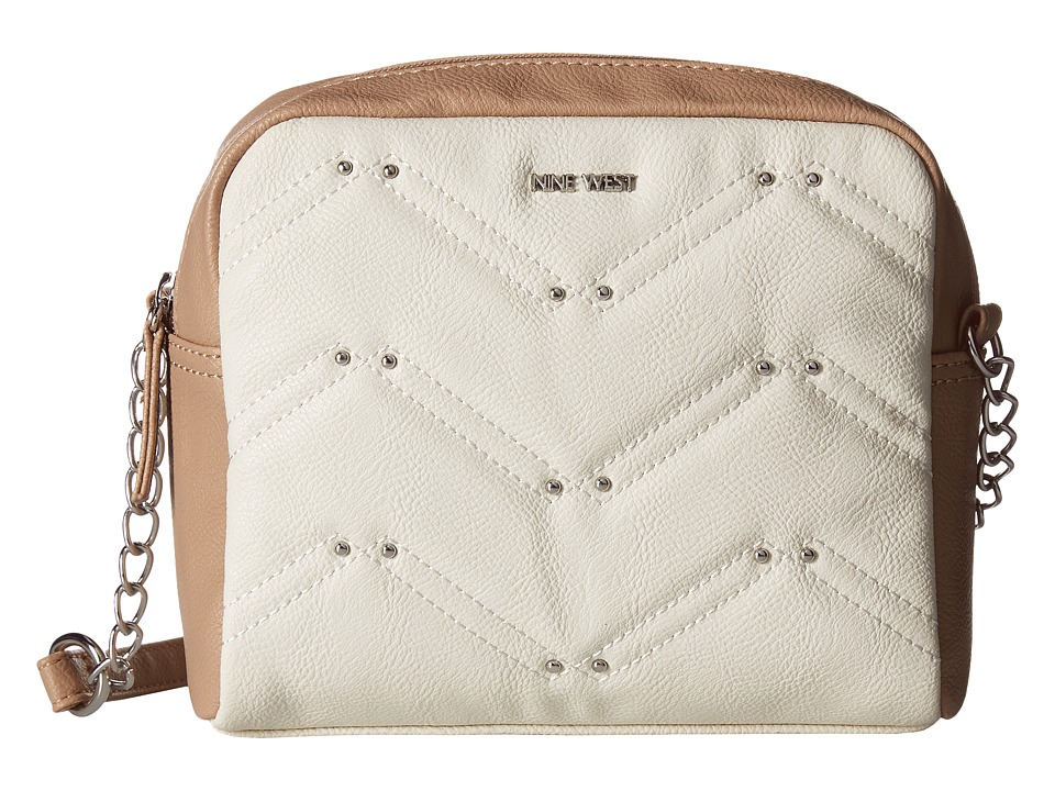 Nine West - Weekend Pass (Chalk/Mink (Gussets + Handles)) Handbags