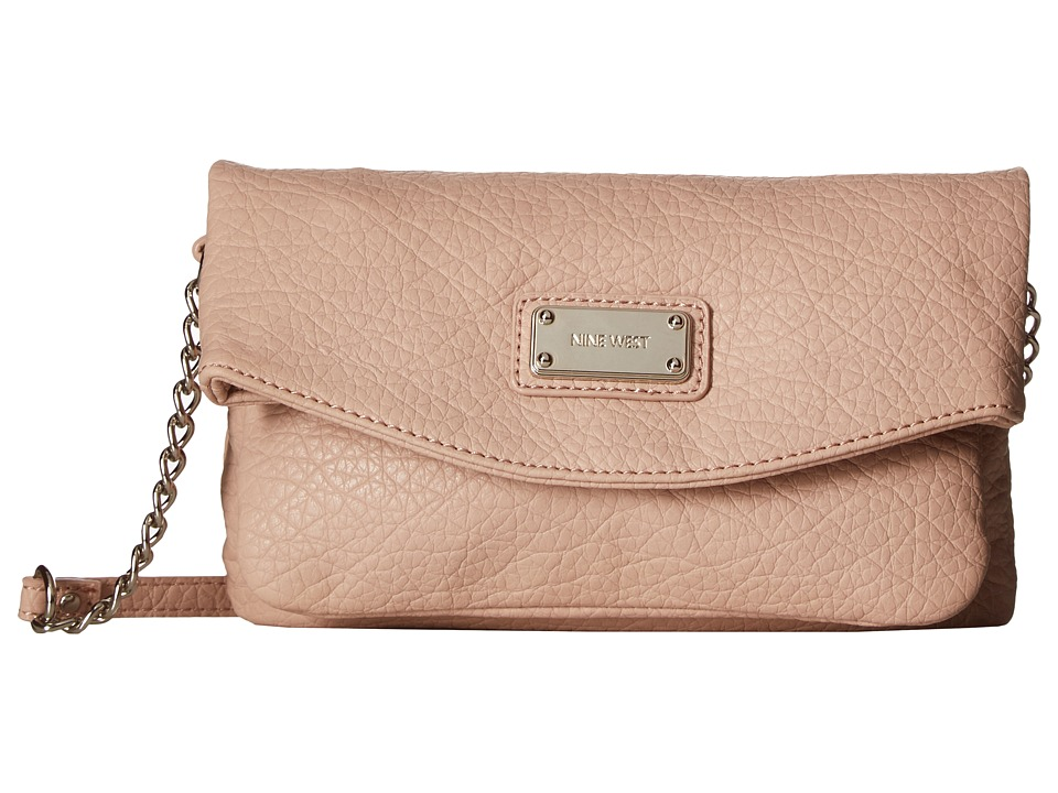 Nine West - Tunnel Crossbody (Blush) Cross Body Handbags