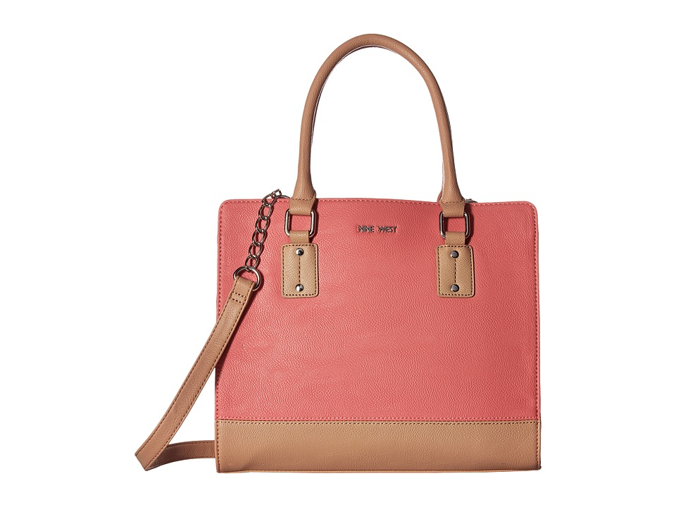 Nine West - You and Me (Canyon Coral/Almondine) Handbags