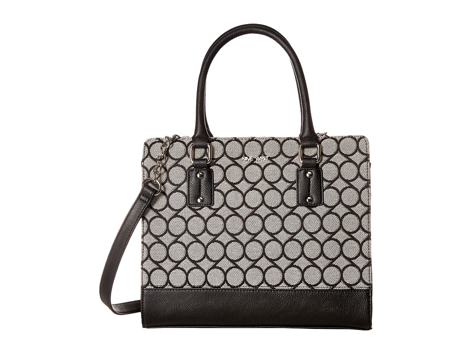 Nine West - You and Me (Black/Ivory/Black) Handbags