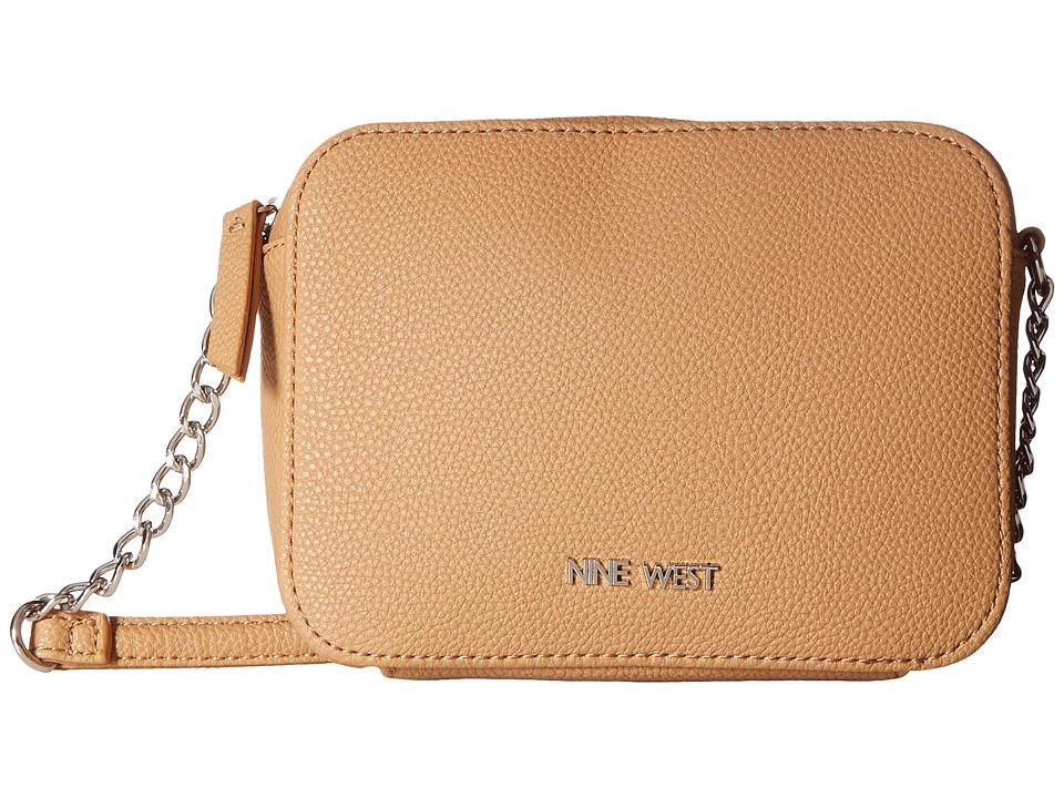 Nine West - Lucky Treasure Small Crossbody (Dark Camel) Handbags