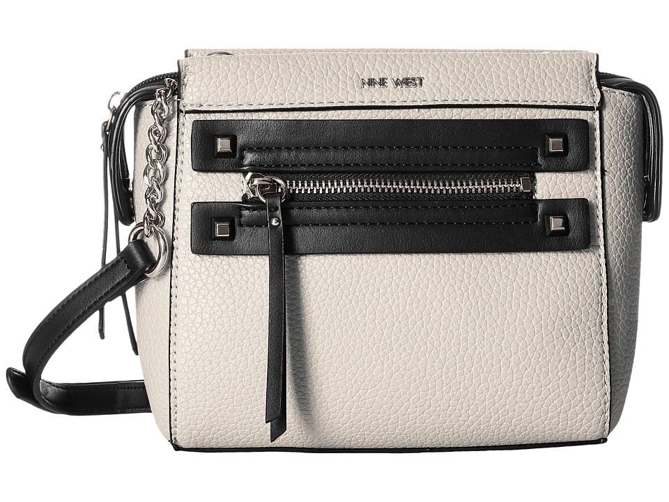Nine West - Get Poppin Crossbody (Milk/Black) Cross Body Handbags