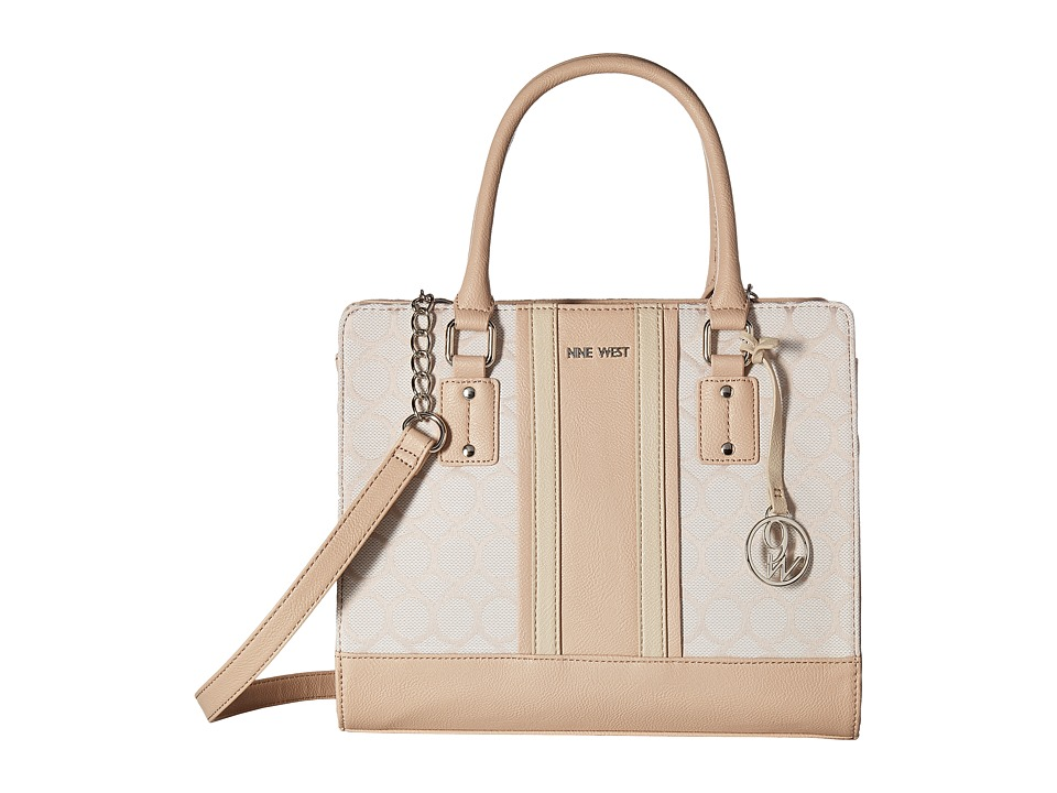 Nine West - Youz and Me (Light Khaki/White/Cashmere/Beige) Handbags