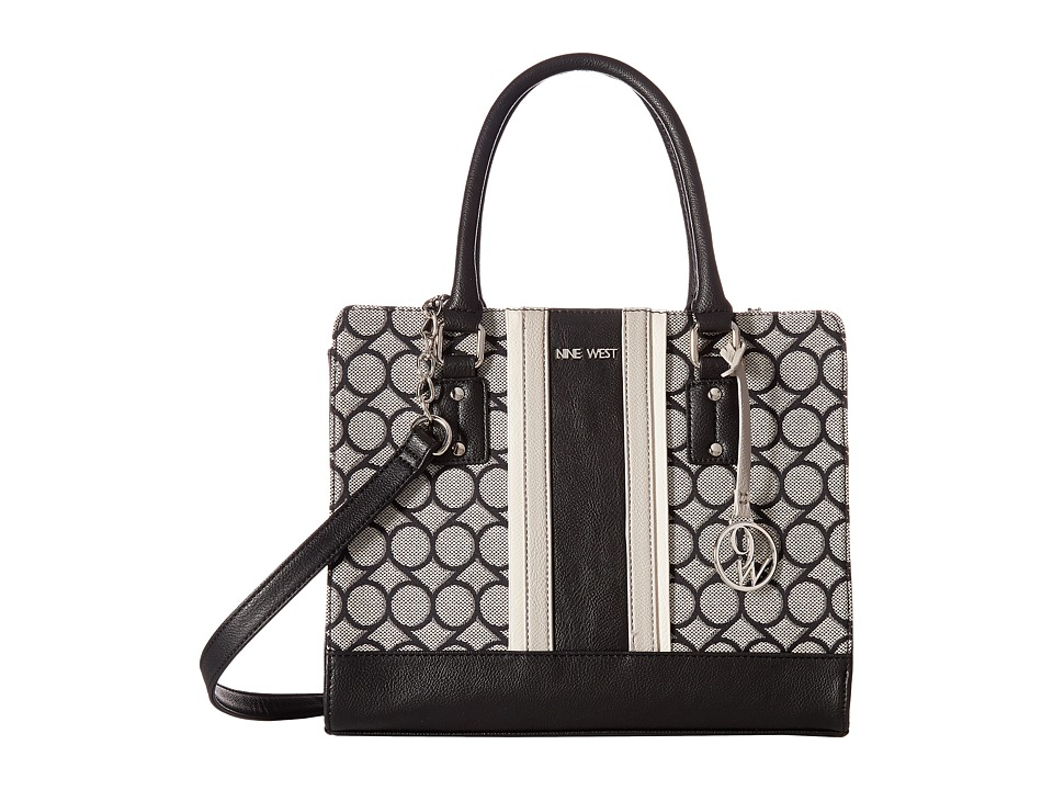 Nine West - You and Me (Black/Ivory/Black/Chalk/Dove) Handbags