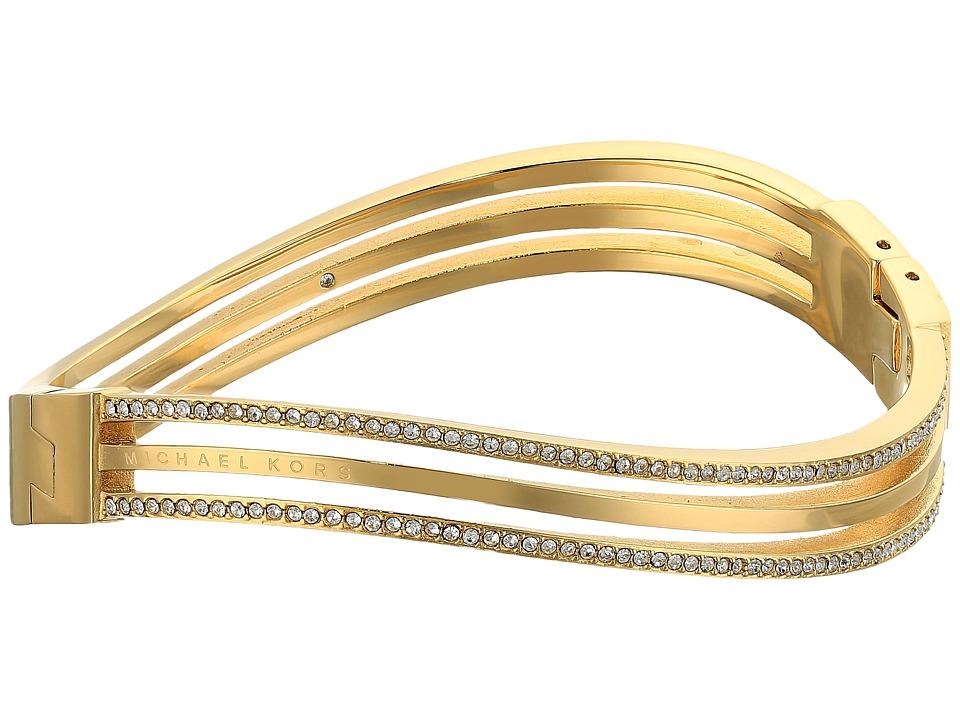 Michael Kors - Wonderlust Hinge Bracelet (Gold) Bracelet