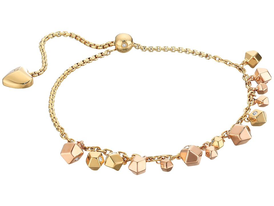 Michael Kors - Tailored Nugget Slider Bracelet (Gold) Bracelet