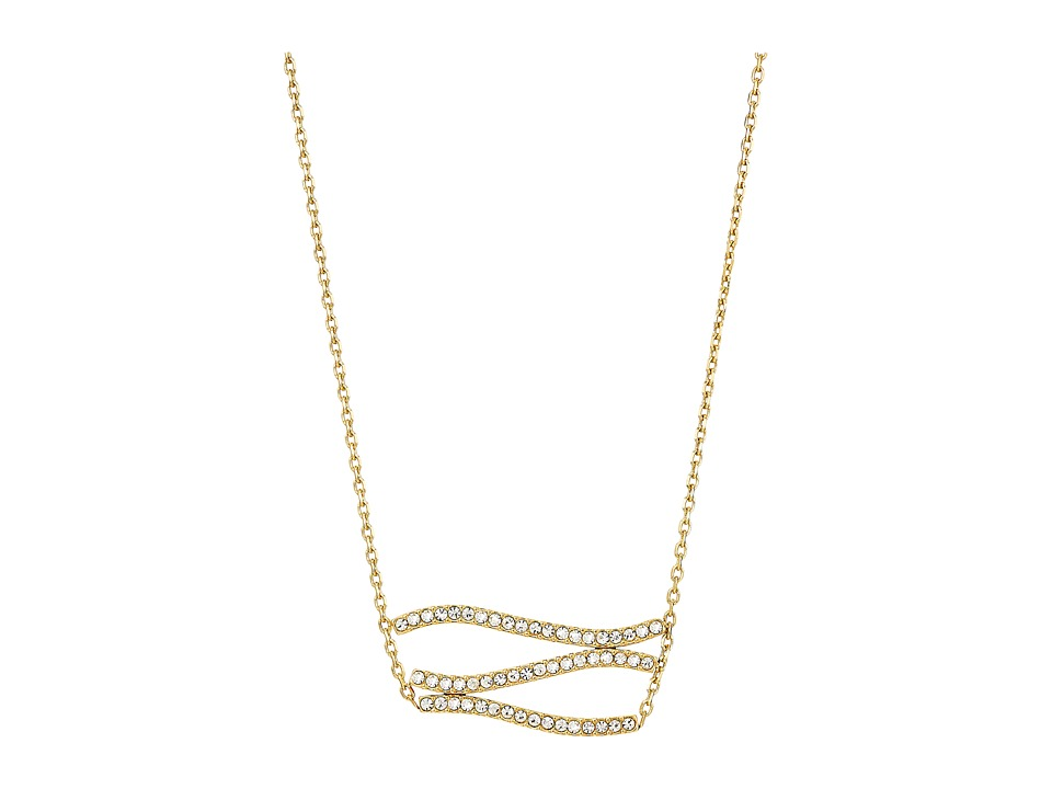 Michael Kors - Wonderlust Pendant Necklace (Gold) Necklace