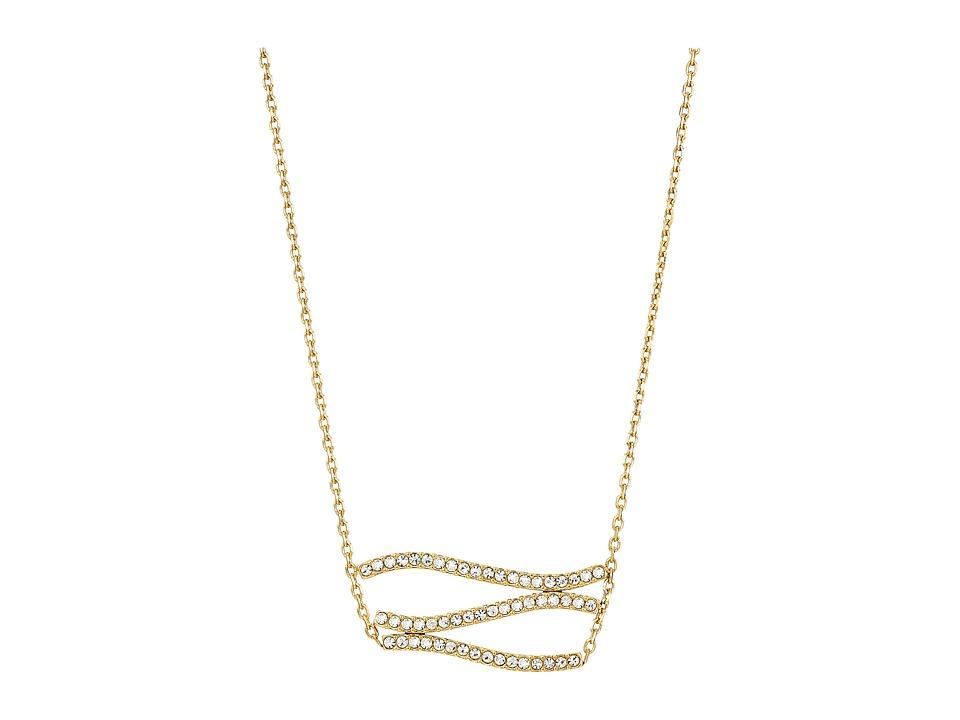 Michael Kors - Wonderlust Pendant Necklace (Gold) Necklace