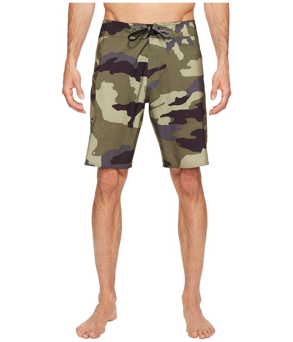 Volcom - Lido Solid Mod 20 Boardshorts (Camouflage) Men's Swimwear