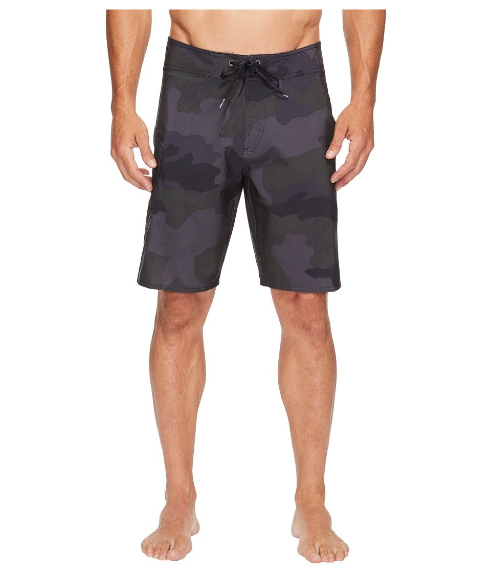 Volcom - Lido Solid Mod 20 Boardshorts (Blackout) Men's Swimwear