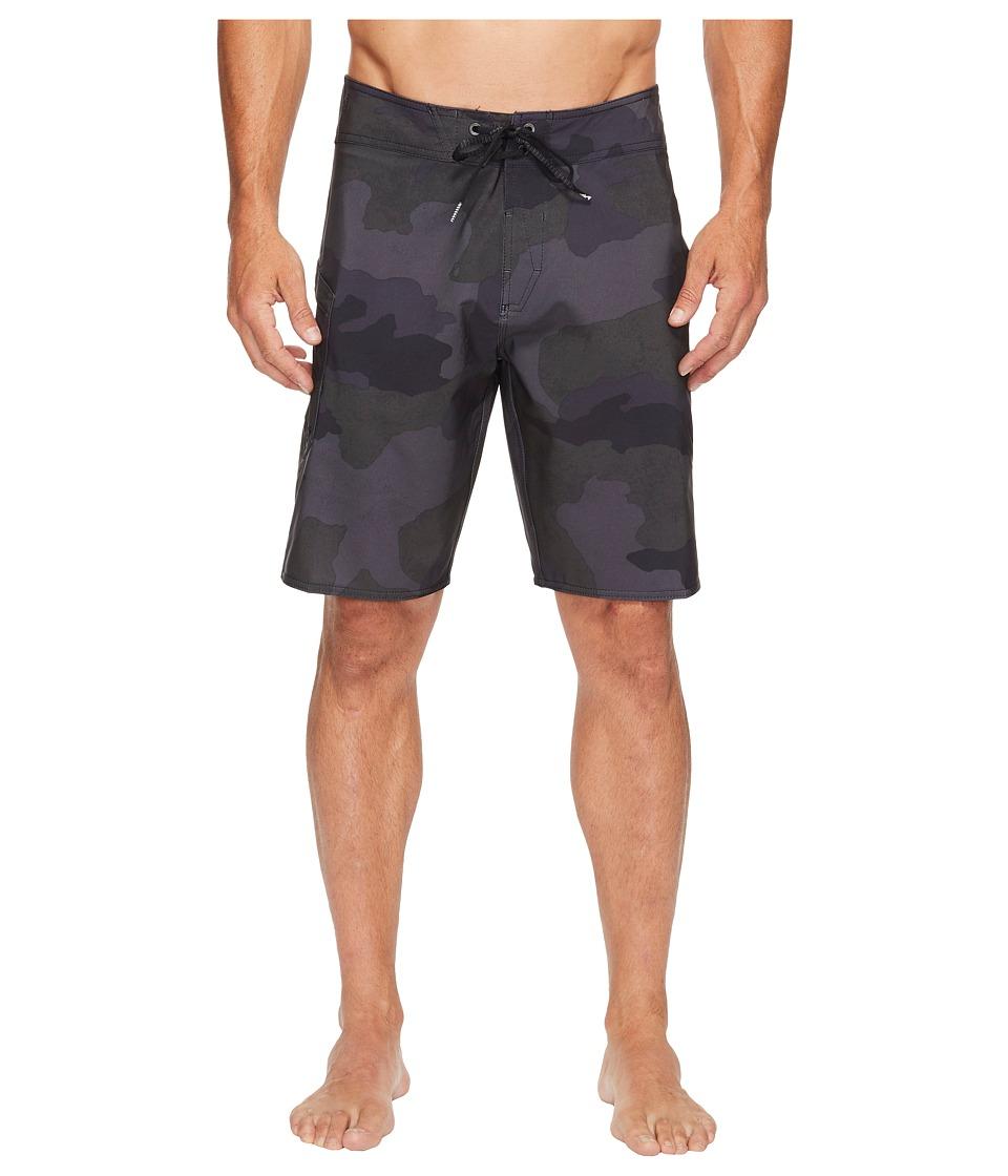 Volcom - Lido Solid Mod 20 Boardshorts (Blackout) Men's Swimwear