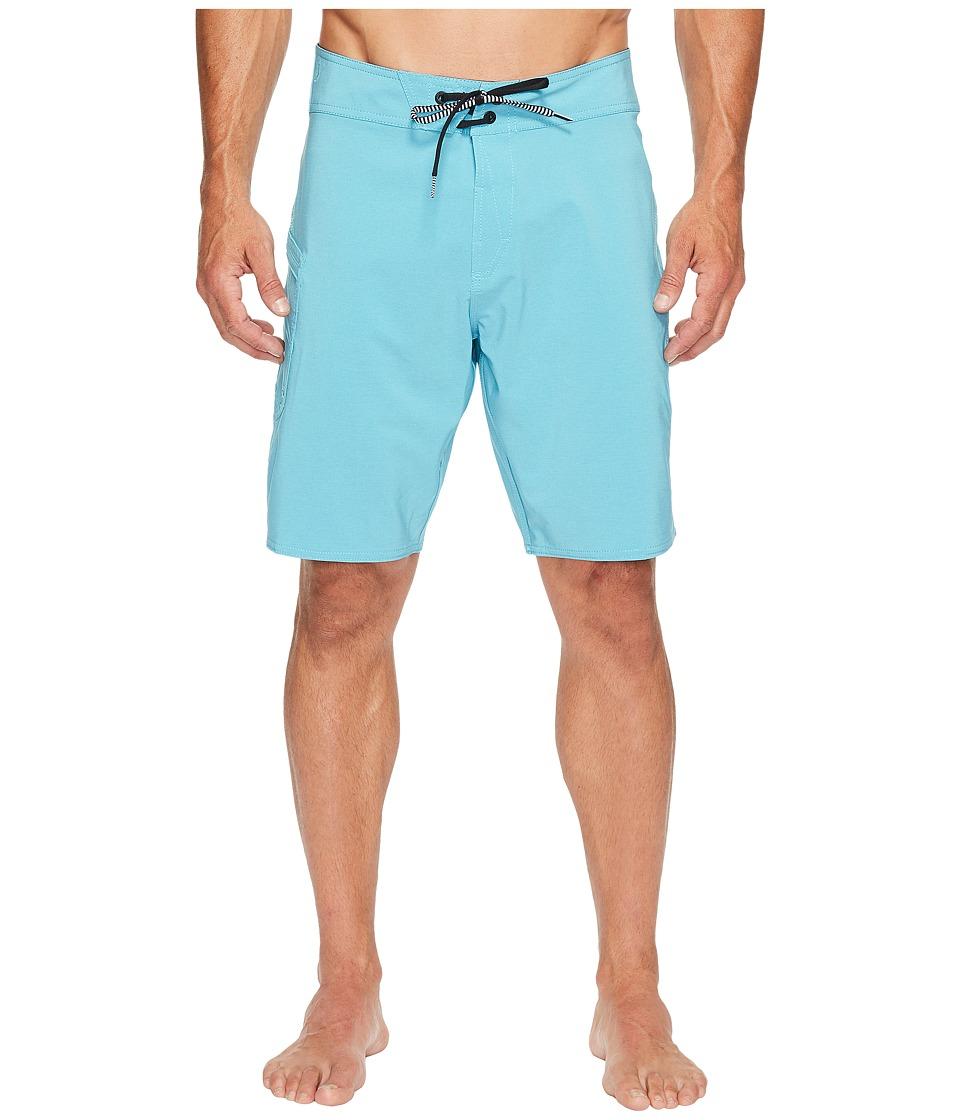 Volcom - Lido Solid Mod 20 Boardshorts (Blue Bird) Men's Swimwear