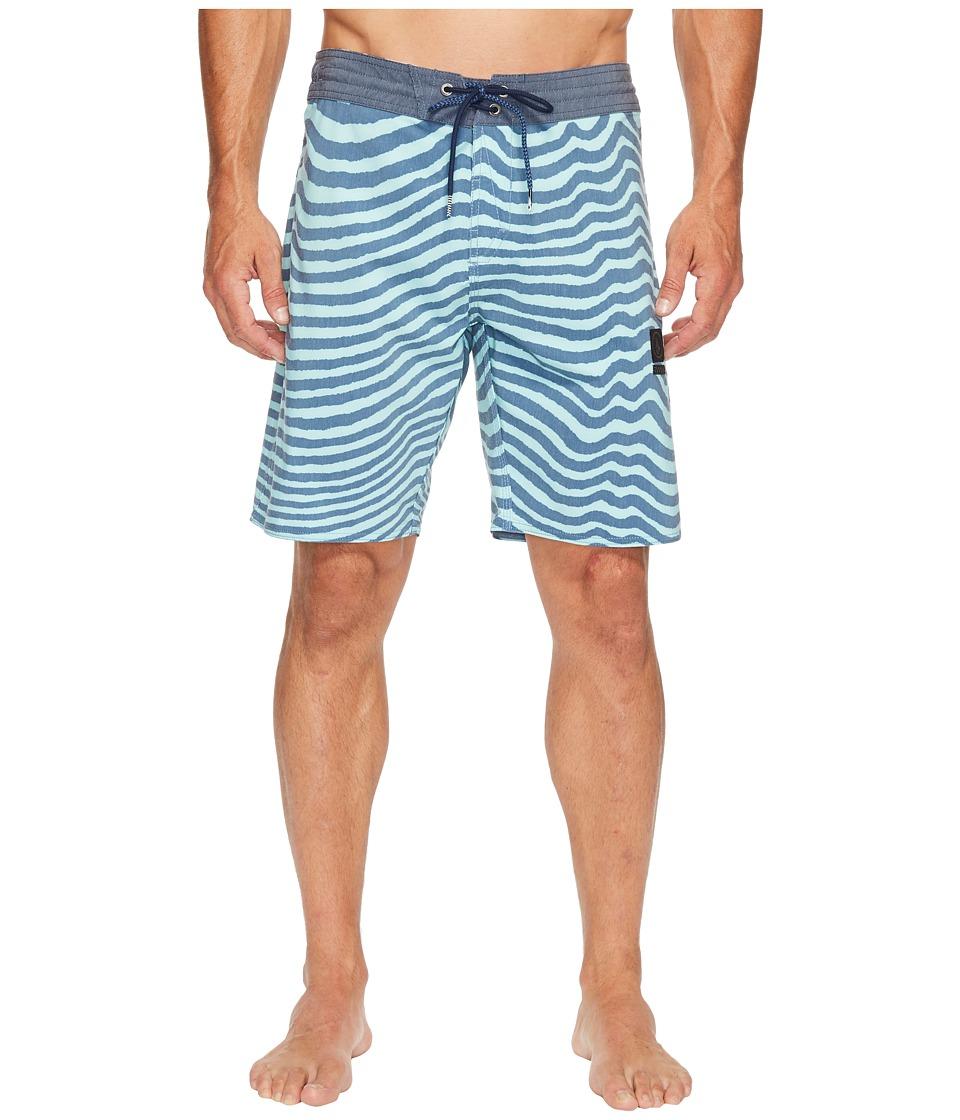 Volcom - Mag Vibes Slinger 19 Boardshorts (Smokey Blue) Men's Swimwear