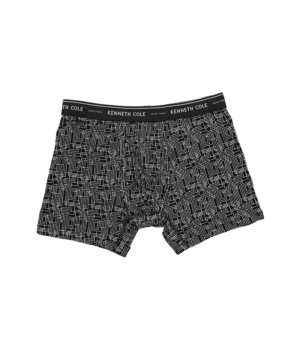 Kenneth Cole Reaction - Boxer Brief (Black Traffic) Men's Underwear
