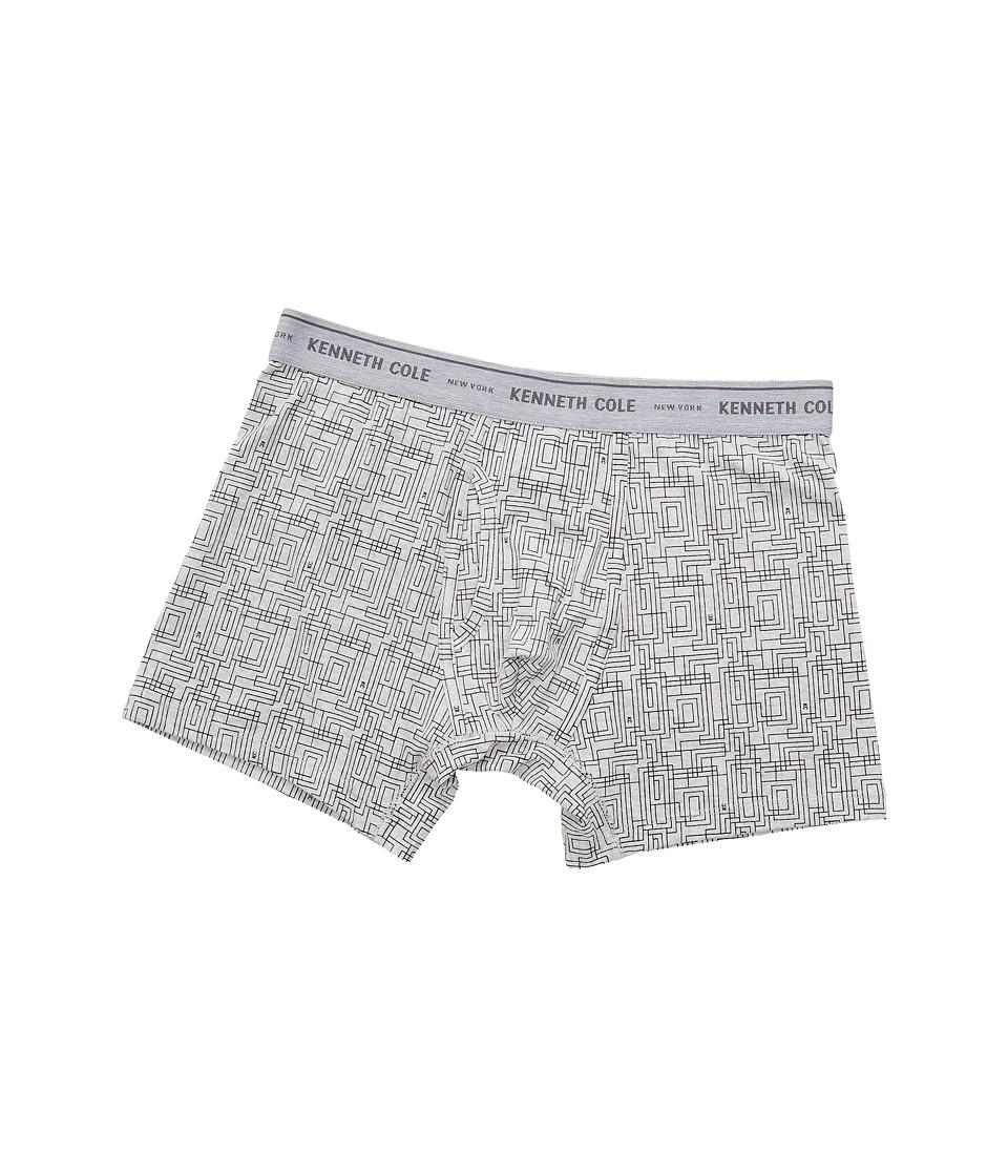 Kenneth Cole Reaction - Boxer Brief (Light Heather Grey Traffic) Men's Underwear