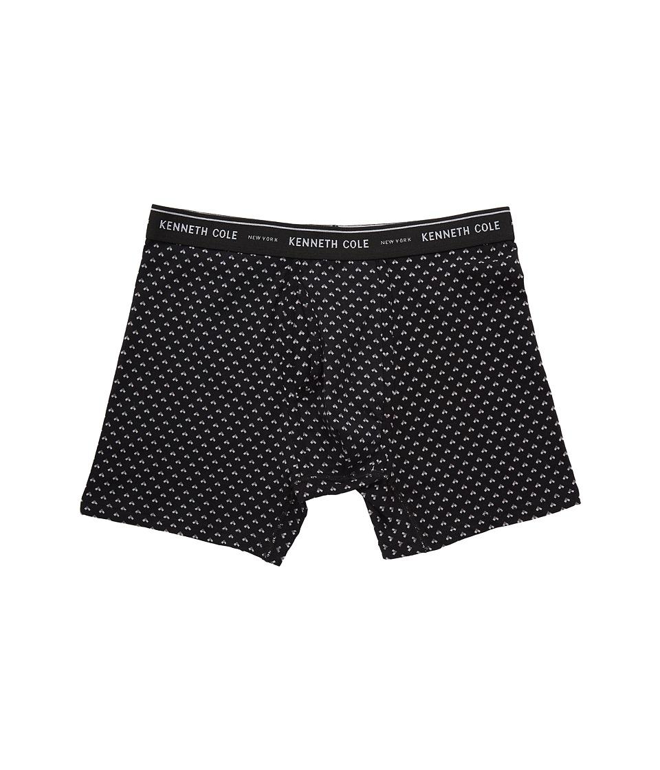 Kenneth Cole Reaction - Boxer Brief (Black Diamond Dots) Men's Underwear