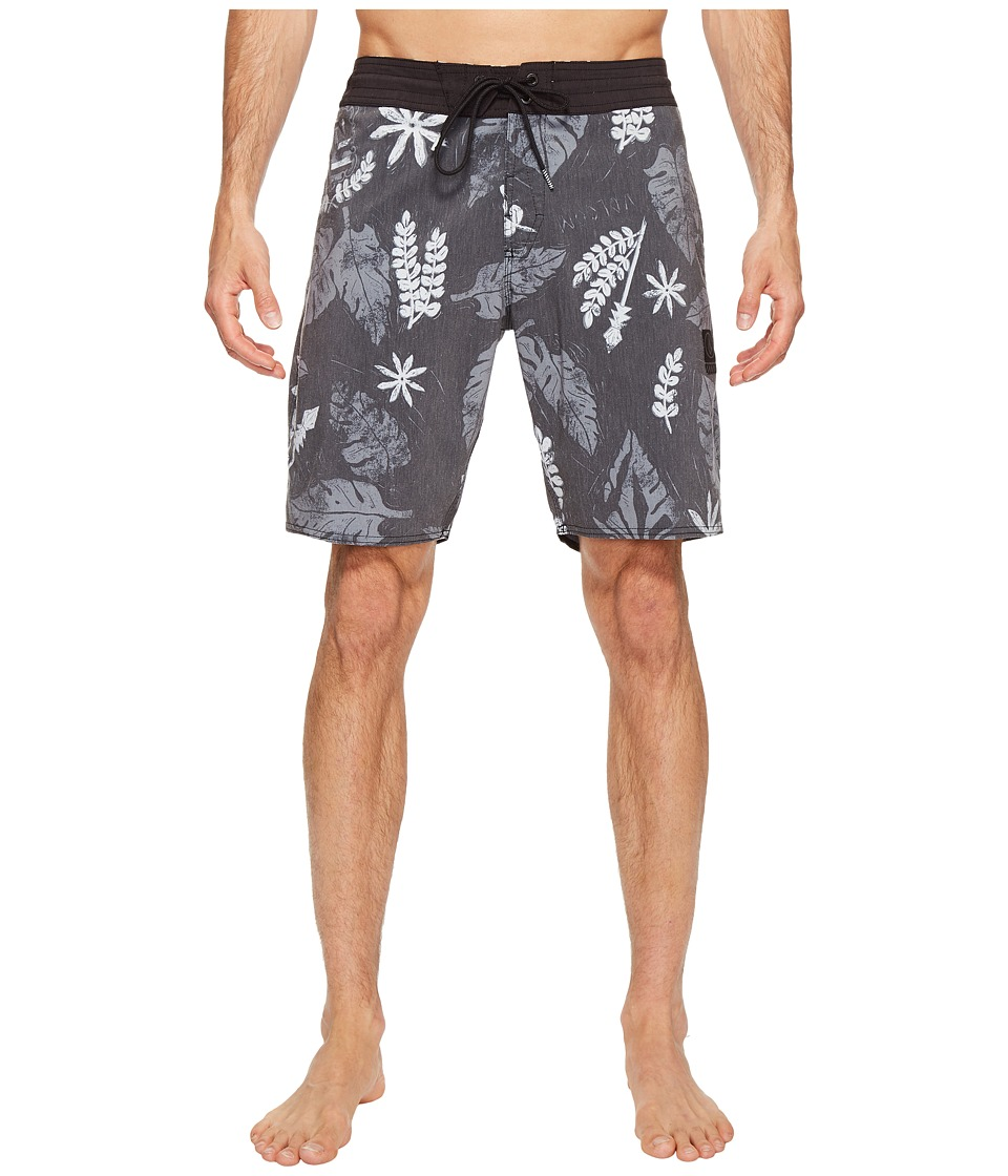 Volcom - Monsta Bud 19 Boardshorts (Black) Men's Swimwear