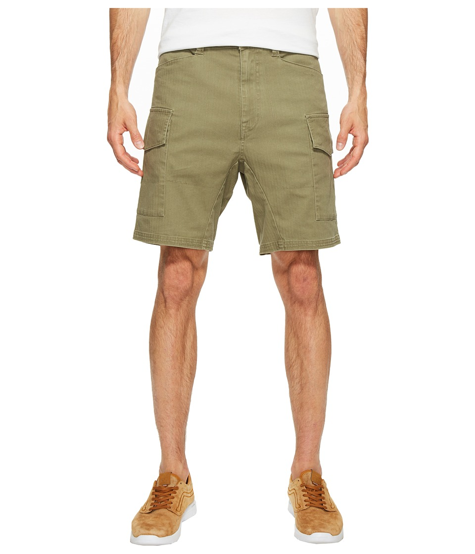 Volcom - Base Cargo Short (Light Army) Men's Shorts