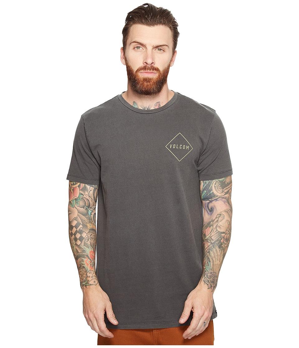 Volcom - Pitcher Short Sleeve Tee (Black) Men's T Shirt