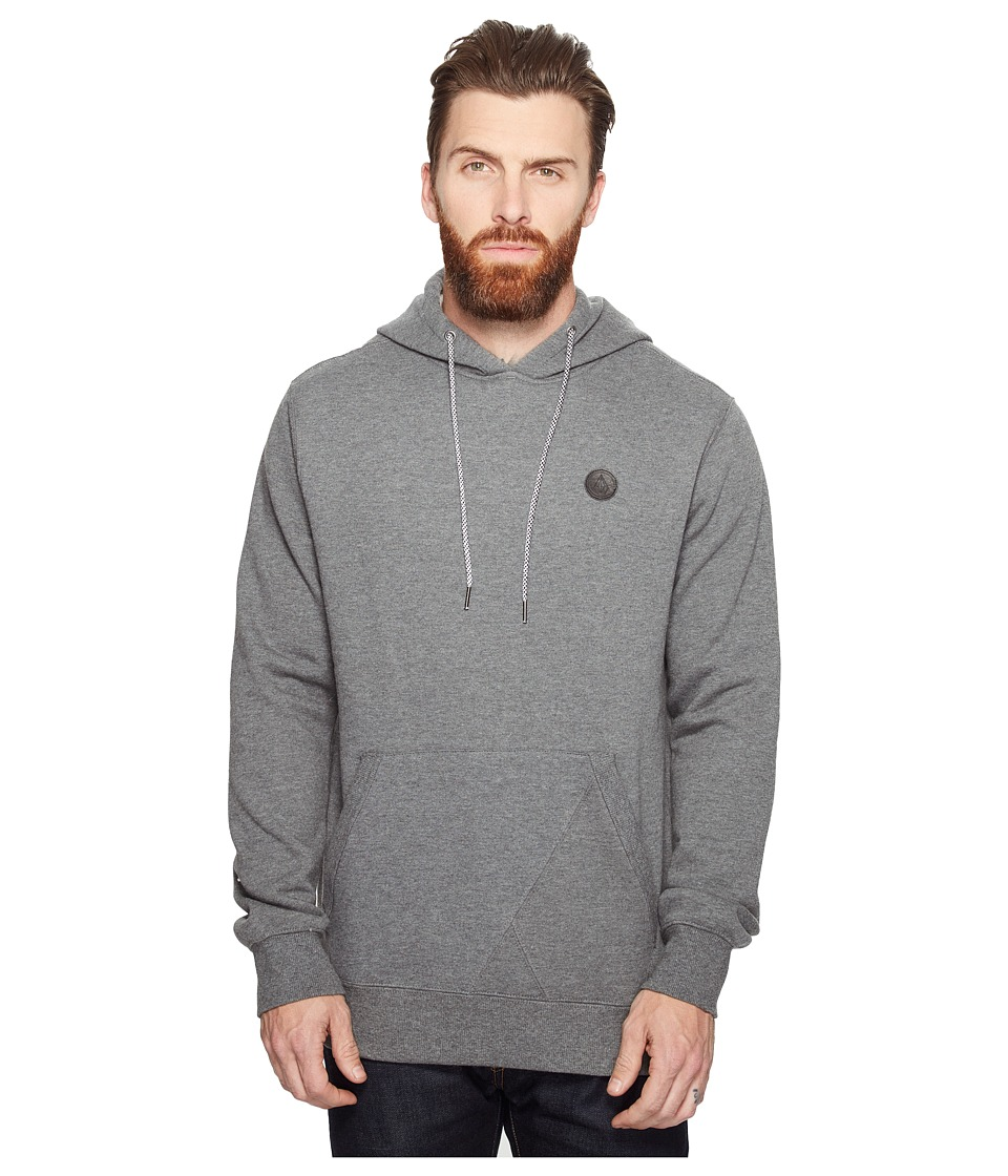 Volcom - Single Stone Pullover (Dark Grey) Men's Fleece