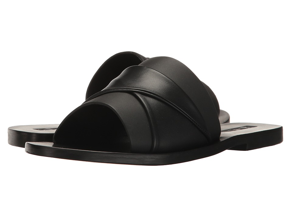 Sol Sana - Twisted Slide (Black) Women's Slide Shoes