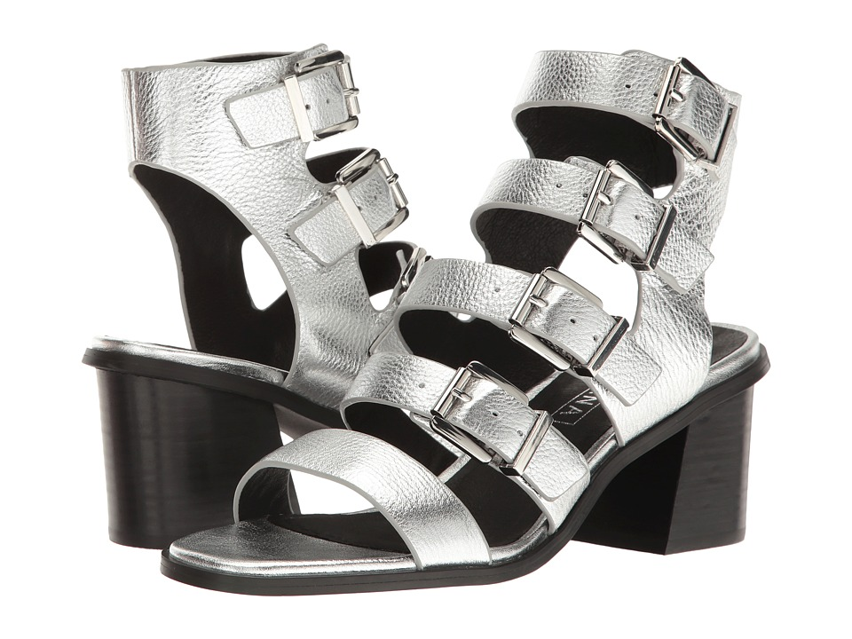 Sol Sana - Jazz Heel (Silver) Women's Shoes