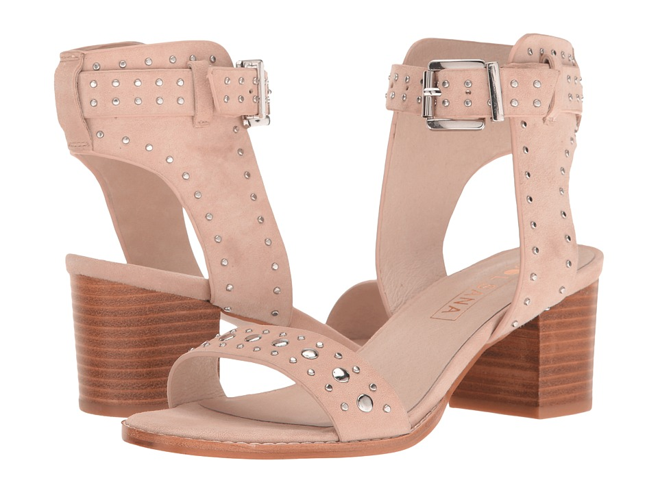 Sol Sana - Porter Heel (Blush Suede) Women's Shoes