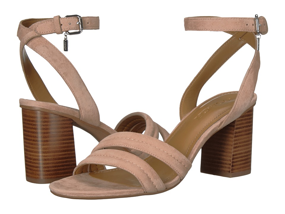 COACH - Pierce (Beechwood Lux Suede) Women's Sandals