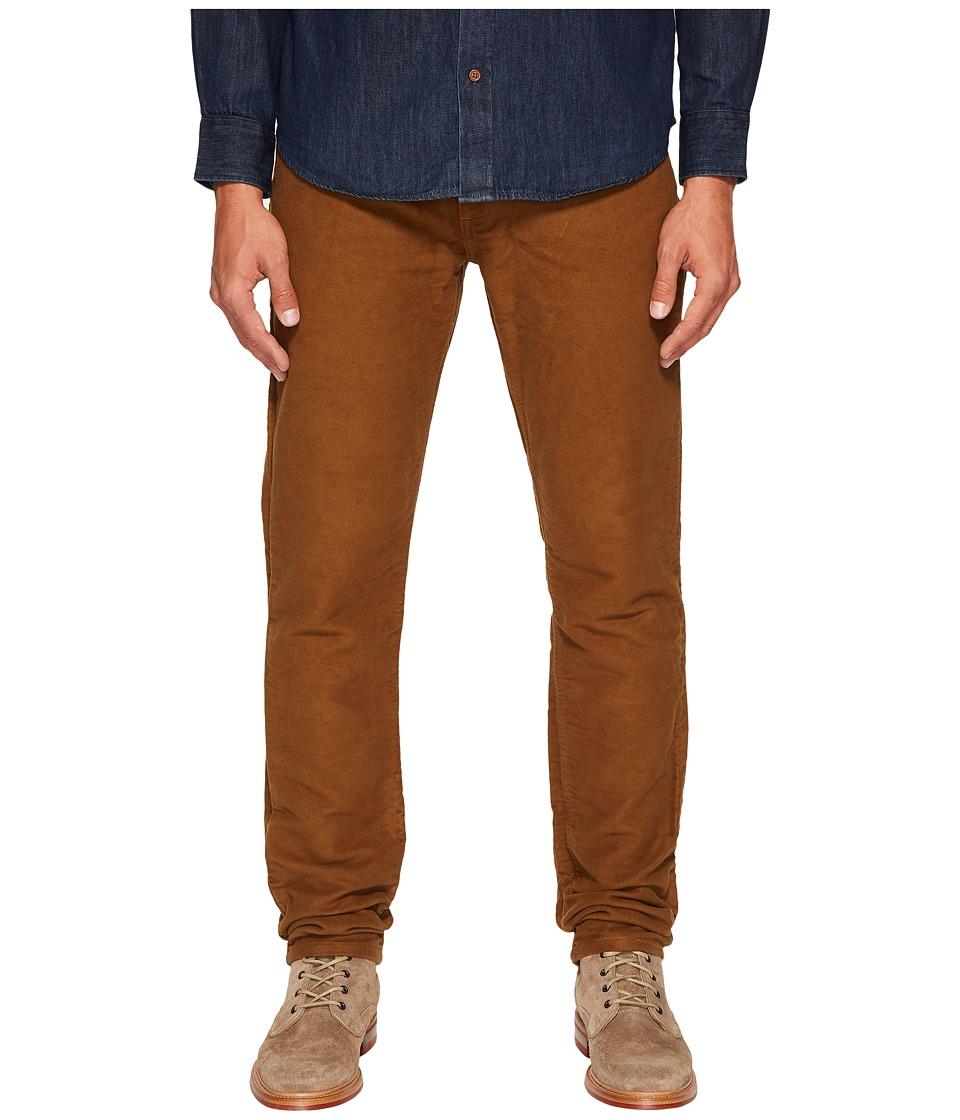 Billy Reid - Moleskin Jeans in Rubber (Rubber) Men's Jeans