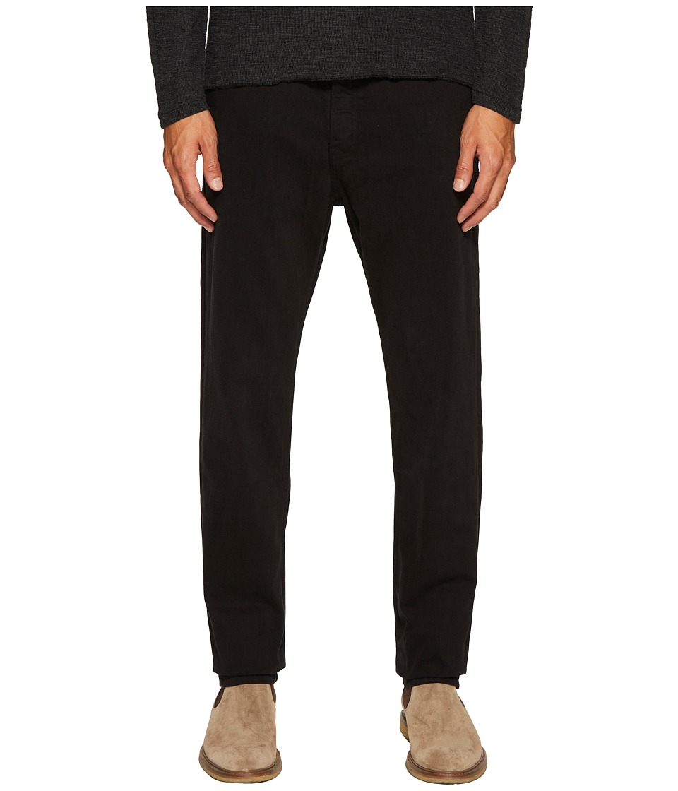 Billy Reid Five-Pocket Pants (Black) Men's Casual Pants