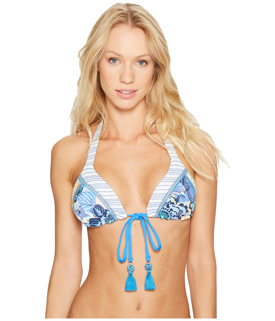 Maaji - Mystic Scenario Sliding Triangle Top (Multicolor) Women's Swimwear