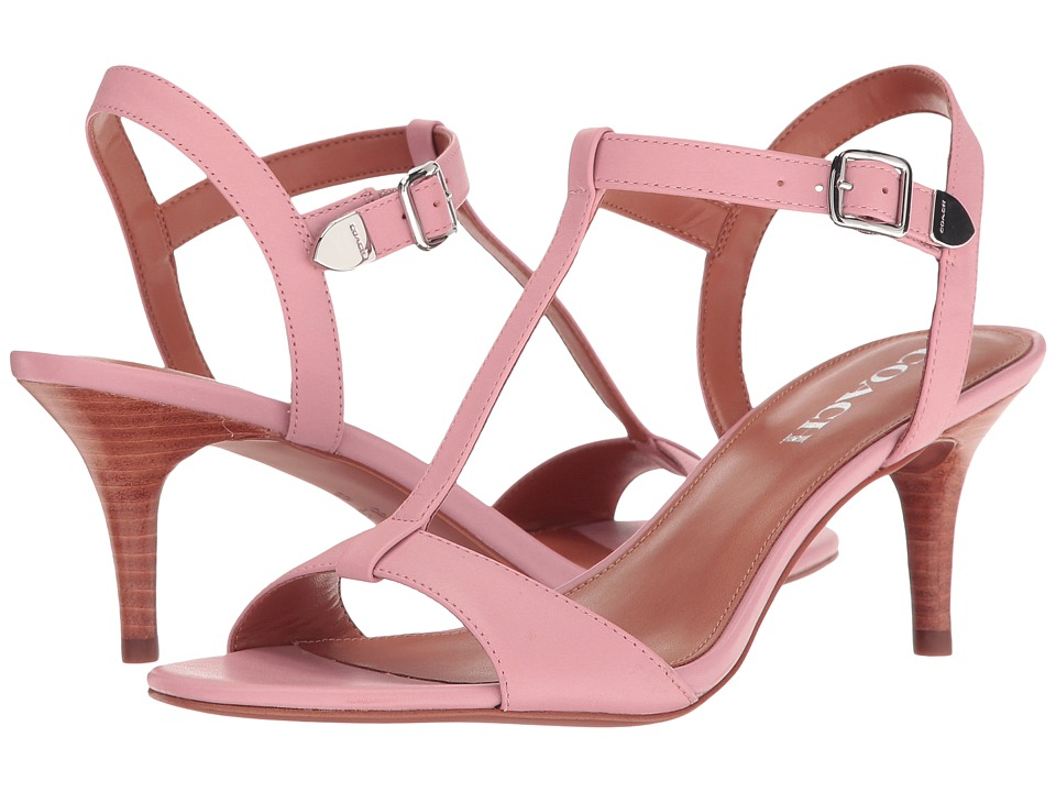 COACH - Melodie (Pink Semi Matte Calf) Women's 1-2 inch heel Shoes