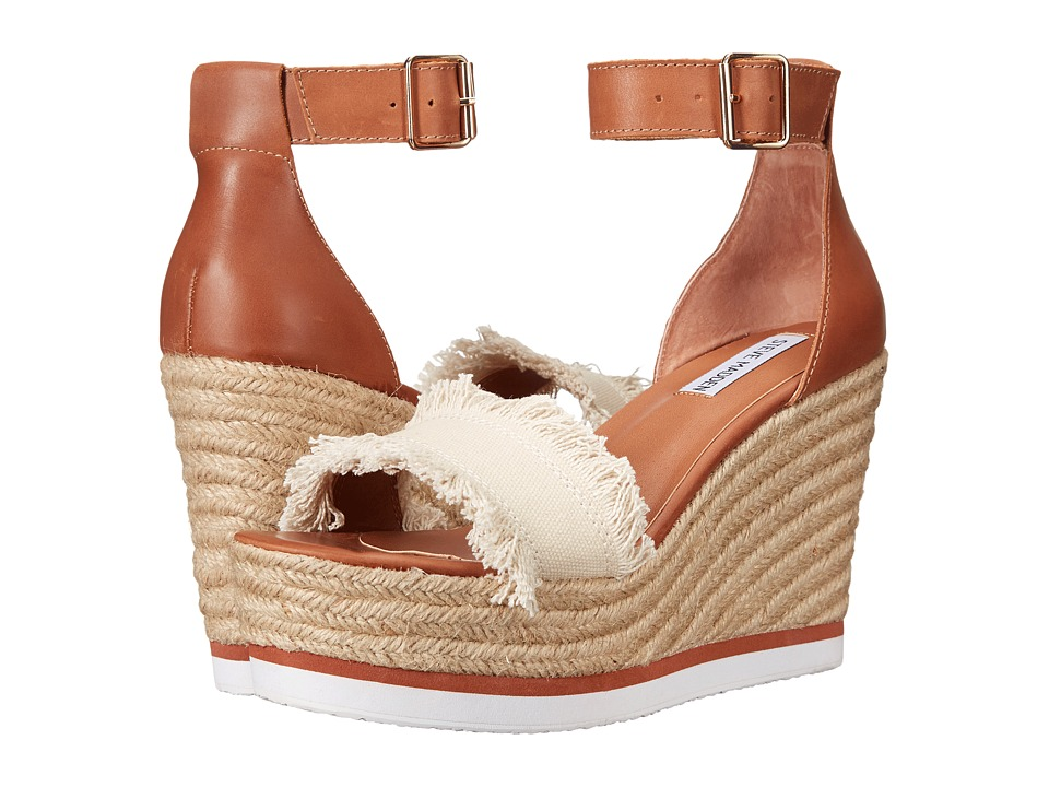 Steve Madden - Valley (Beige Fabric) Women's Shoes